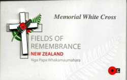 Memorial White Cross Lapel Badge