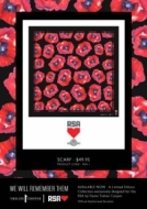 Lady's Silk Poppy Scarf  (size 1200x1200)